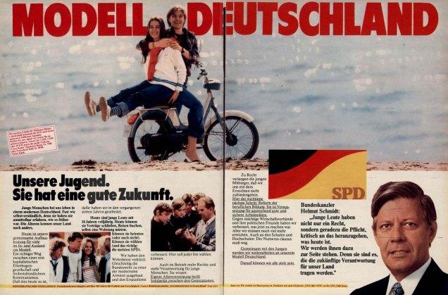 SPD 1976 Wahlwerbung
